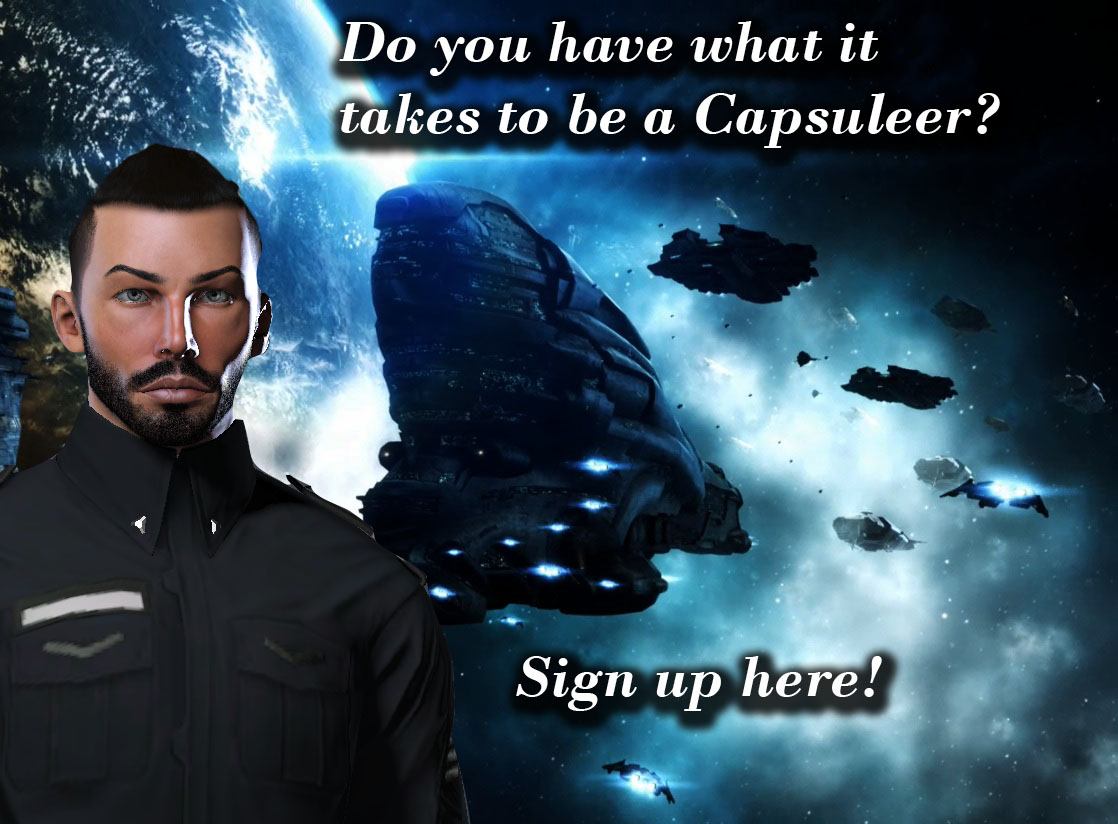 Do you have what it takes to be a capsuleer?